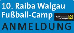 Anmeldung Fussballcamp